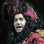 Craig Revel Horwood fab-u-lous as Captain Hook in Peter Pan